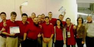 Photo of Rutgers Turf Bowl Competition Team